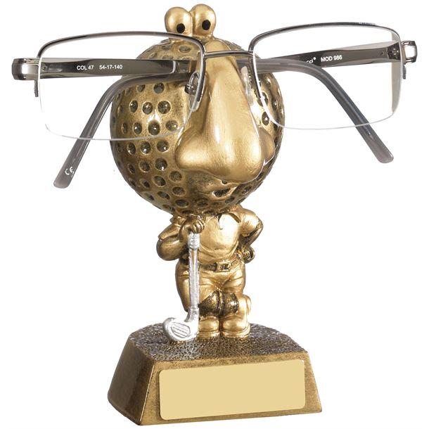 """Golf Novelty Glasses Holder 12cm (5.25"""")"""