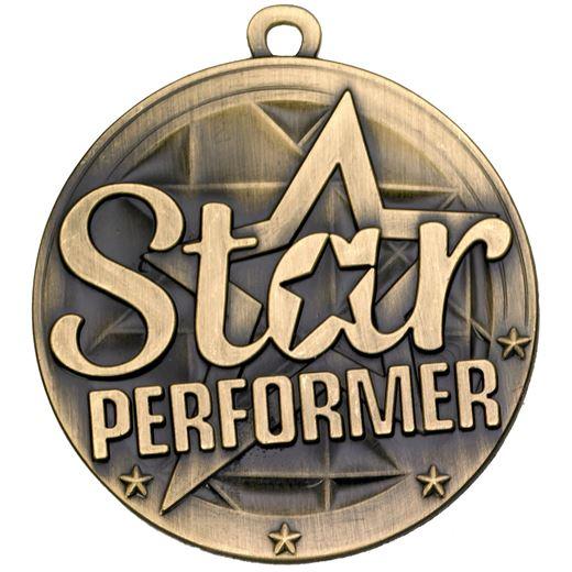 "Star Performer Gold Medal 50mm (2"")"