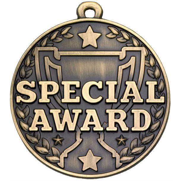"Special Award Gold Medal 50mm (2"")"