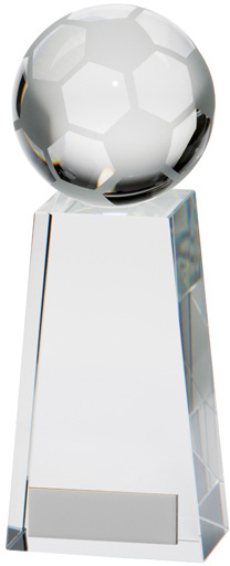 "Voyager Football Glass Award 9.5cm (3.75"")"