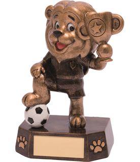 "Football Kids Lion Braveheart Trophy 12.5cm (5"")"