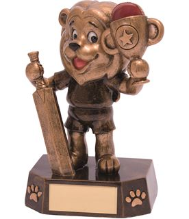 "Cricket Kids Lion Braveheart Trophy 12.5cm (5"")"