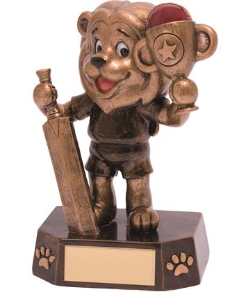 "Cricket Kids Lion Braveheart Trophy 12.5cm (5"")"