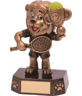 "Tennis Kids Lion Braveheart Trophy 12.5cm (5"")"
