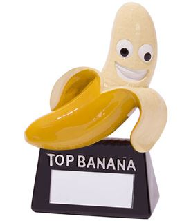 "Top Banana Novelty Trophy 10cm (4"")"