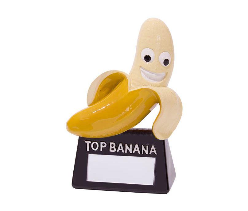 "Top Banana Novelty Trophy 10cm (4"")"