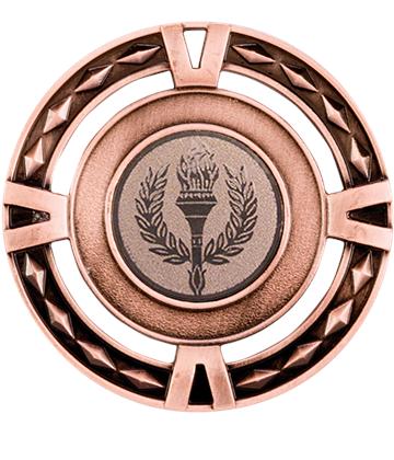 "Multisport V-Tech Medal Bronze 60mm (2.25"")"