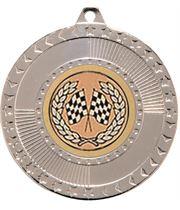 "Silver Star-Force Multi Sport Medal 50mm (2"")"