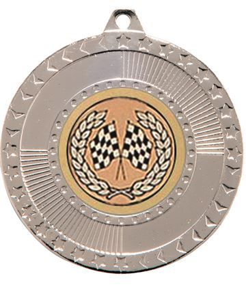 "Silver Star-Force Multi Sport Medal 50mm (2"")"