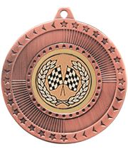 "Bronze Star-Force Multi Sport Medal 50mm (2"")"
