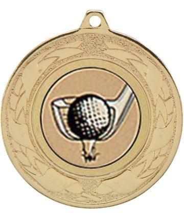 """Emperor Multi Sport Medal Series Gold 40mm (1.5"""")"""