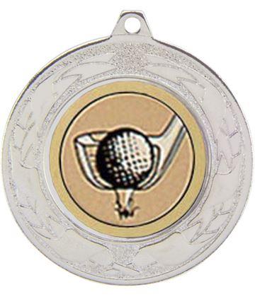 """Emperor Multi Sport Medal Series Silver 40mm (1.5"""")"""