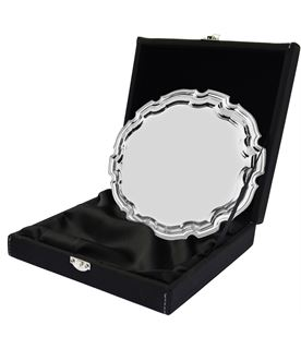 """Leatherette Salver Tray Case for up to 10"""" Trays"""