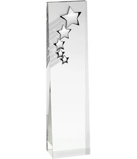 "Optical Crystal Star Glass Plaque Award 20.5cm (8"")"