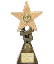 "2018 Multi Award Star Trophy 10cm (4"")"