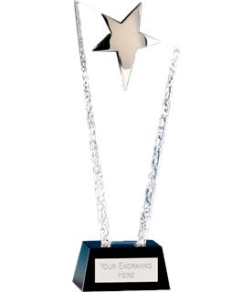 """Major Star Crystal Glass Award 27.5cm (11"""")"""