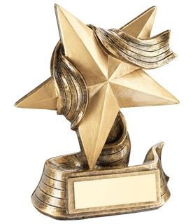 "Resin Star Achievement Multi Award Trophy 12cm (4.75"")"