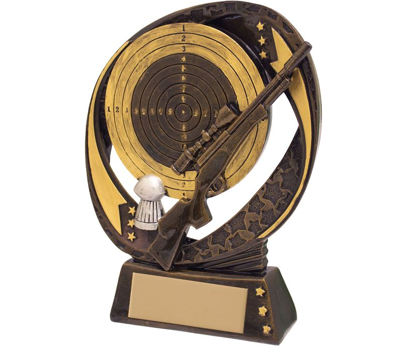 "Air Rifle Shooting Typhoon Trophy 17cm (6.75"")"
