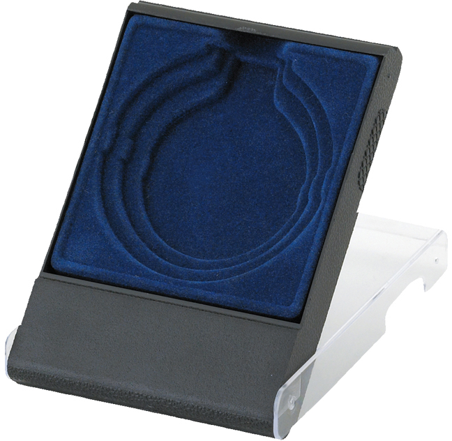 Blue Medal Box with Clear Lid for 50mm, 60mm, or 70mm Medals