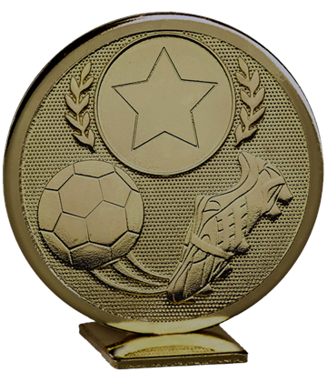 "Bronze Global Boot & Ball Self Standing Award 60mm (2.25"")"