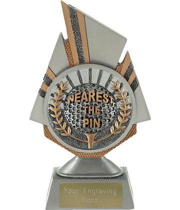 """Shard Nearest the Pin Golf Trophy 17.5cm (6.75"""")"""