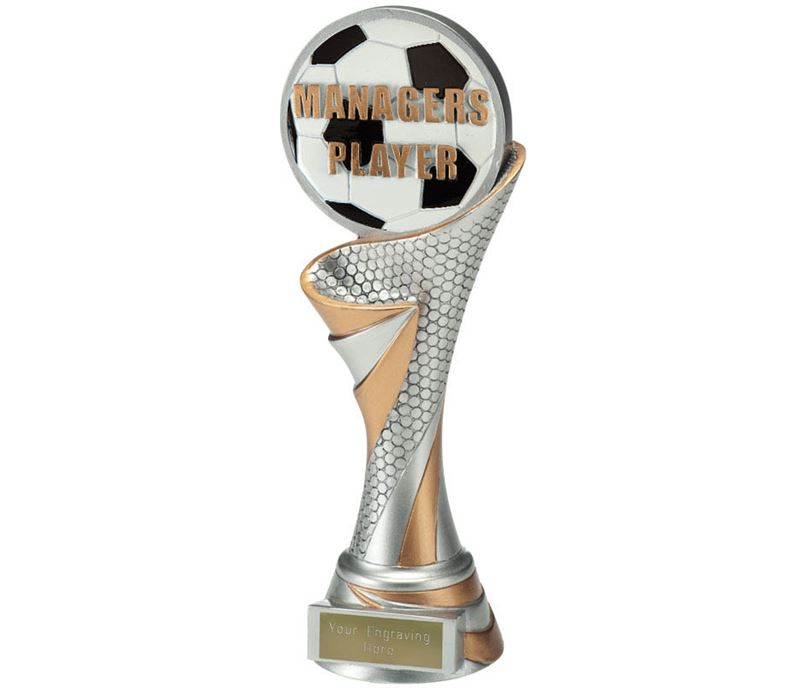 "Reach Managers Player Trophy 22.5cm (8.75"")"