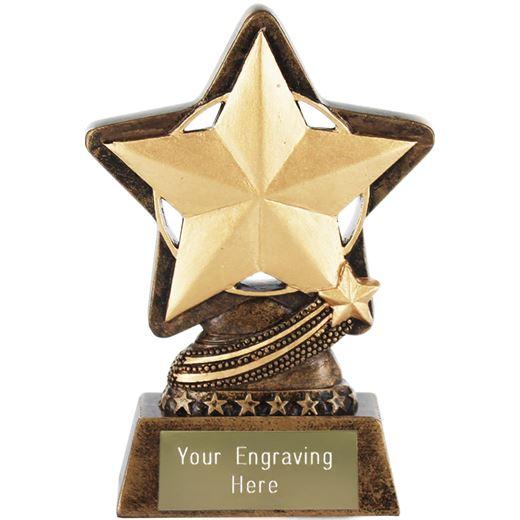 """Star Trophy by Infinity Stars 10cm (4"""")"""