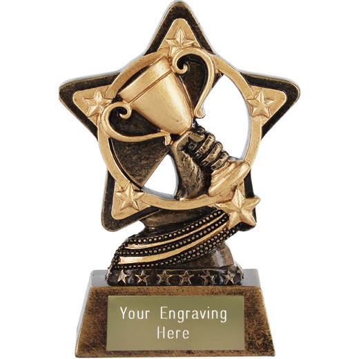 """Trophy Cup Achievement Trophy by Infinity Stars 10cm (4"""")"""
