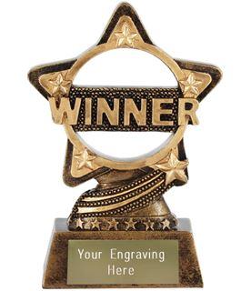"""Winner Trophy by Infinity Stars 10cm (4"""")"""