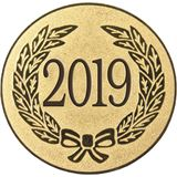 "Gold Metal 2019 1"" Centre Disc"