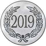 "Silver Metal 2019 1"" Centre Disc"
