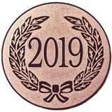 "Bronze Metal 2019 1"" Centre Disc"
