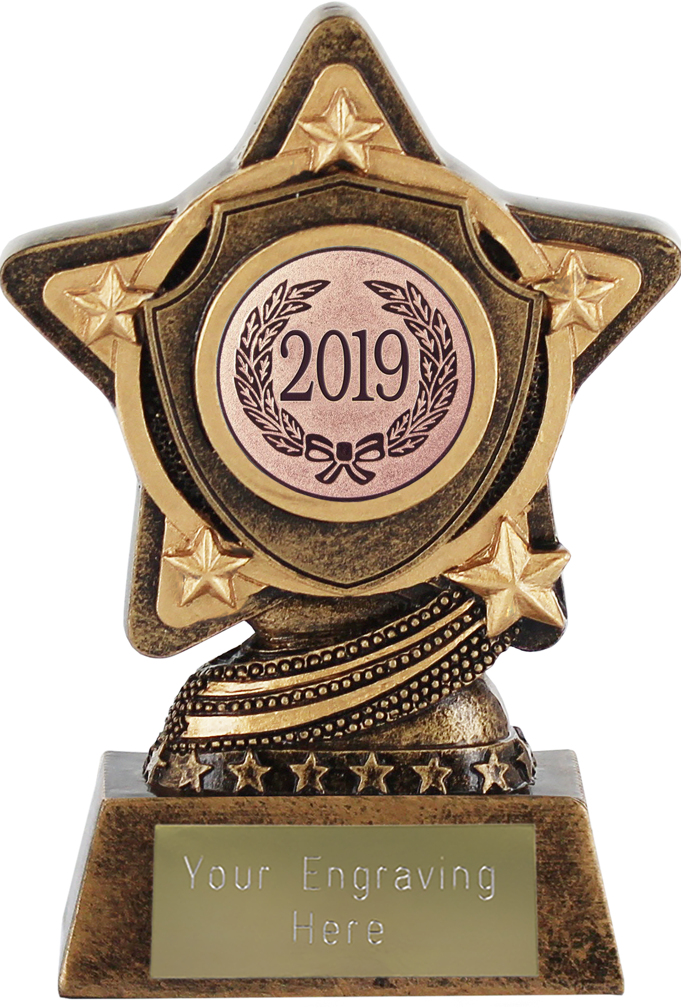 "2019 Bronze Infinity Star Trophy 10cm (4"")"