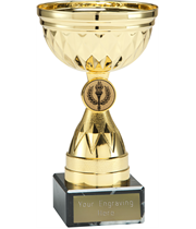 """Chalice Gold Trophy Cup 12.5cm (5"""")"""