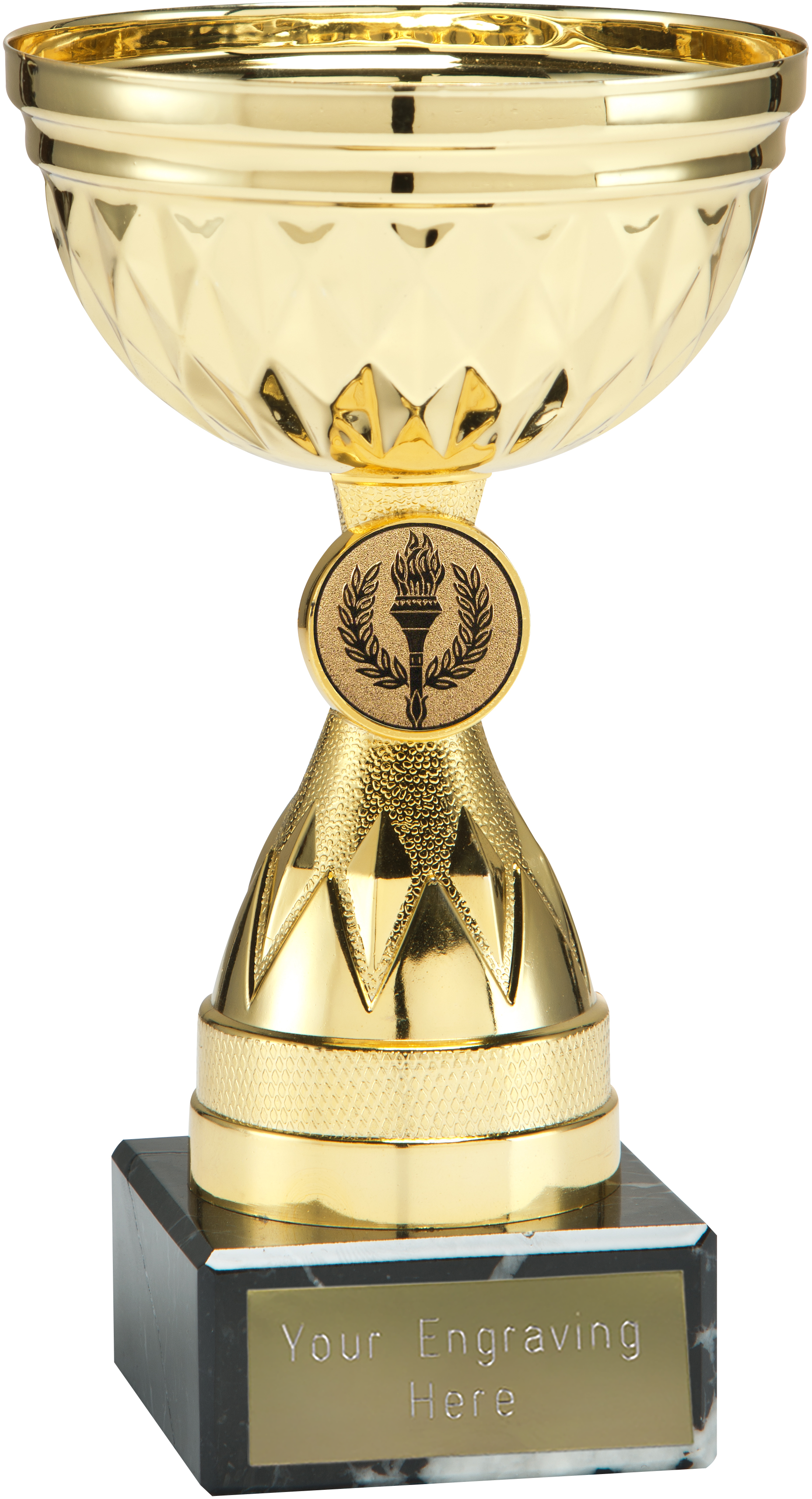 "Chalice Gold Trophy Cup 12.5cm (5"")"