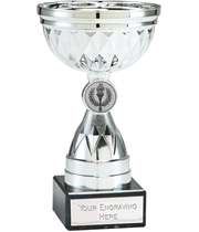"""Chalice Silver Trophy Cup 14cm (5.5"""")"""