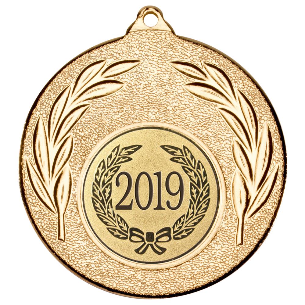 """2019 Gold Leaf Medal 50mm (2"""")"""