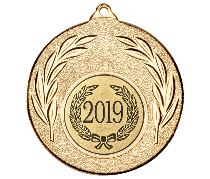 "2019 Gold Leaf Medal 50mm (2"")"