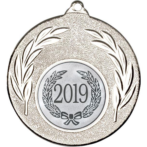 """2019 Silver Leaf Medal 50mm (2"""")"""