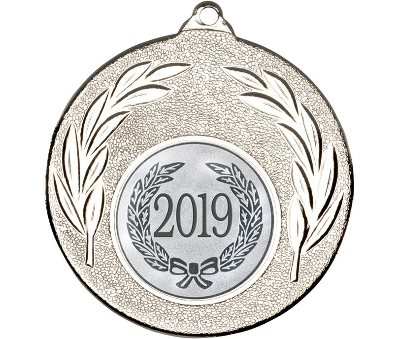"2019 Silver Leaf Medal 50mm (2"")"