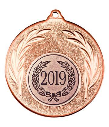 """2019 Bronze Leaf Medal 50mm (2"""")"""