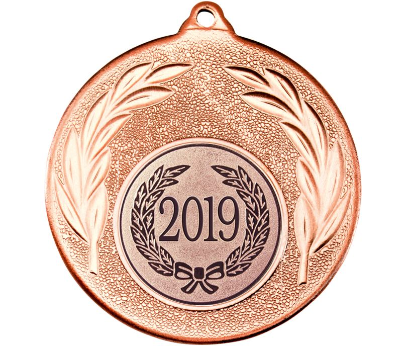 "2019 Bronze Leaf Medal 50mm (2"")"