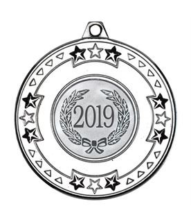 "2019 Silver Star & Pattern Medal 50mm (2"")"
