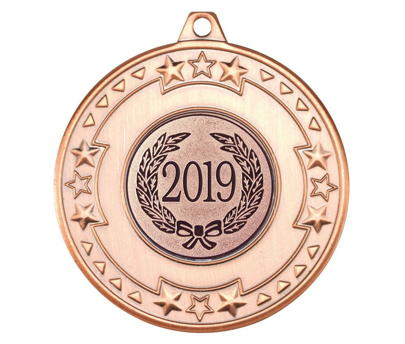 "2019 Bronze Star & Pattern Medal 50mm (2"")"