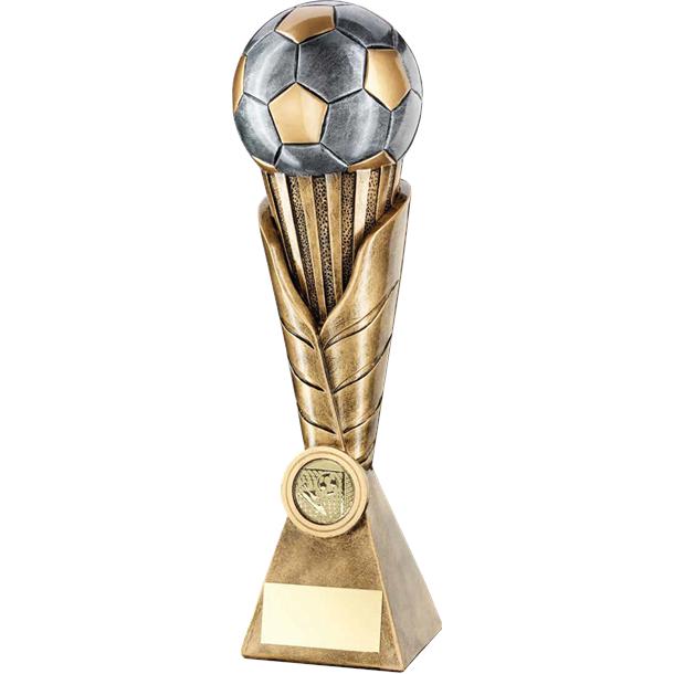 """Laurel Wreath Riser Football Trophy 30.5cm (12"""")"""