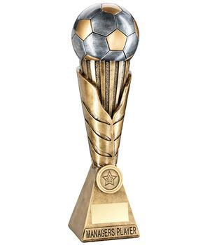 "Laurel Wreath Riser Managers Player Football Trophy 30.5cm (12"")"