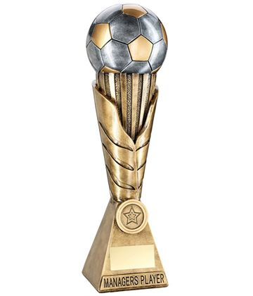 "Laurel Wreath Riser Managers Player Football Trophy 30.5cm (12"")"