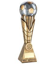 "Laurel Wreath Riser Most Improved Player Football Trophy 30.5cm (12"")"
