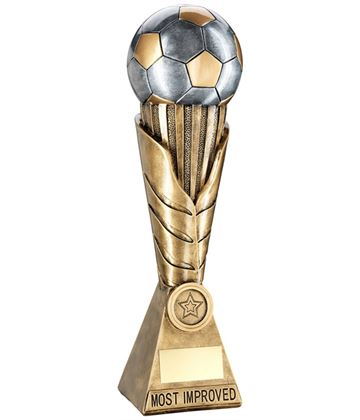 "Laurel Wreath Riser Most Improved Player Football Trophy 30.5cm (12"")"