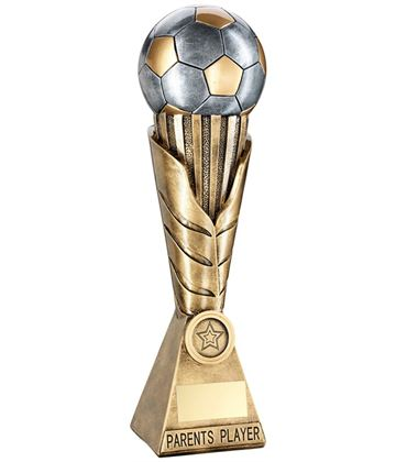 "Laurel Wreath Riser Parents Player Football Trophy 30.5cm (12"")"
